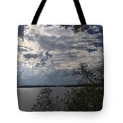 View Across Wappapello Lake Tote Bag