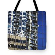 Wiggly Balconies Tote Bag