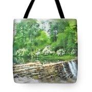 Wigwam Falls Tote Bag