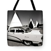 Wigwam Motel Classic Car #2 Tote Bag