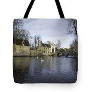 Wijngaardplein Bruges Tote Bag