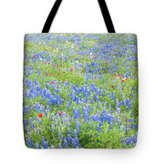 Wild About Wildflowers Of Texas. Tote Bag