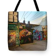 Wild Alley Tote Bag