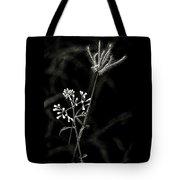 Wild And Beautiful B/w Tote Bag