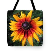 Wild And Crazy Coneflower Tote Bag