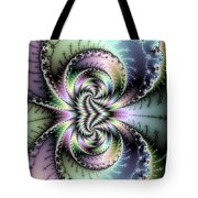 Wild And Crazy Fractal Art Vertical Tote Bag