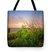 Wild At Sunrise Tote Bag