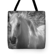 Wild Beauty Bw Tote Bag