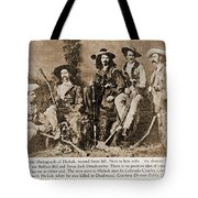 Wild Bill Hickok, Buffalo Bill Tote Bag