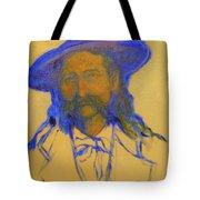 Wild Bill Hickok Tote Bag by Johanna Elik