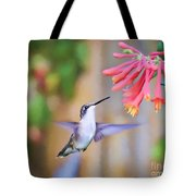 Wild Birds - Hummingbird Art Tote Bag