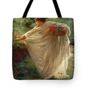 Wild Blossoms Tote Bag