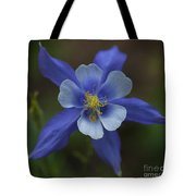 Wild Blue Tote Bag by Barbara Schultheis