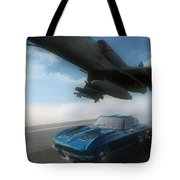 Wild Blue Tote Bag