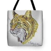 Wild Bobcat Tote Bag
