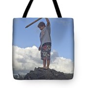 Wild Boy In Paradise Tote Bag