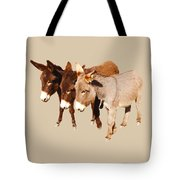Wild Burro Buddies Tote Bag