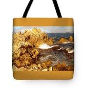 Wild California Coast - Modern Art Tote Bag
