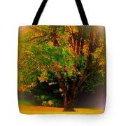 Wild Cherry Tree In Summer Sun Tote Bag