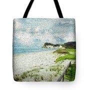 Wild Coastline Tote Bag