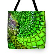 Wild Curves Abstract Tote Bag