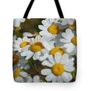 Wild Daisies II Tote Bag