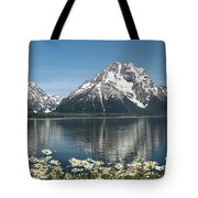 Wild Daisies In The Tetons Tote Bag