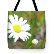 Wild Daisy With Visitor Tote Bag