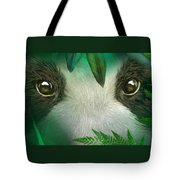 Wild Eyes - Giant Panda Tote Bag