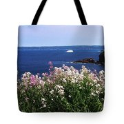 Wild Flowers And Iceberg Tote Bag