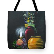 Wild Flowers And Things Tote Bag