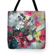 Wild Flowers Bouquet 01 Tote Bag