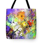 Wild Flowers Bouquet 02 Tote Bag