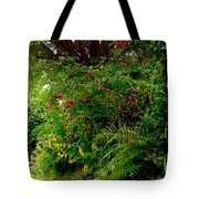Wild Flowers On The Cliff Path Tote Bag