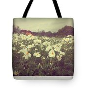 Wild Flowers Soft Tote Bag