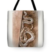 Wild Friendly Gopher Snake Tote Bag