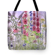 Wild Garden Flowers Tote Bag