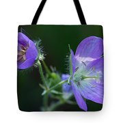 Wild Geraniums Tote Bag