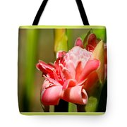 Wild Ginger Tote Bag