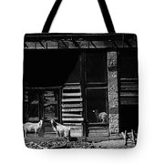 Wild Goats Ghost Town White Oaks New Mexico 1968 Tote Bag