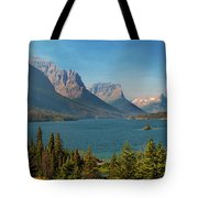 Wild Goose Island - Glacier National Park Tote Bag