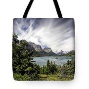 Wild Goose Island Glacier Park 2 Tote Bag