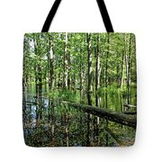Wild Goose Woods Pond II Tote Bag