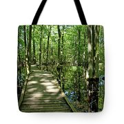 Wild Goose Woods Pond Vi Tote Bag