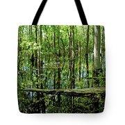 Wild Goose Woods Pond Vii Tote Bag