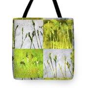 Wild Grass Collage 3 Tote Bag