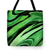 Wild Green Tote Bag