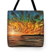 Wild Hearted Sun - Santa Cruz Tote Bag