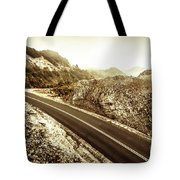 Wild Highland Road Tote Bag
