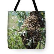 Wild Honey Bees Tote Bag
